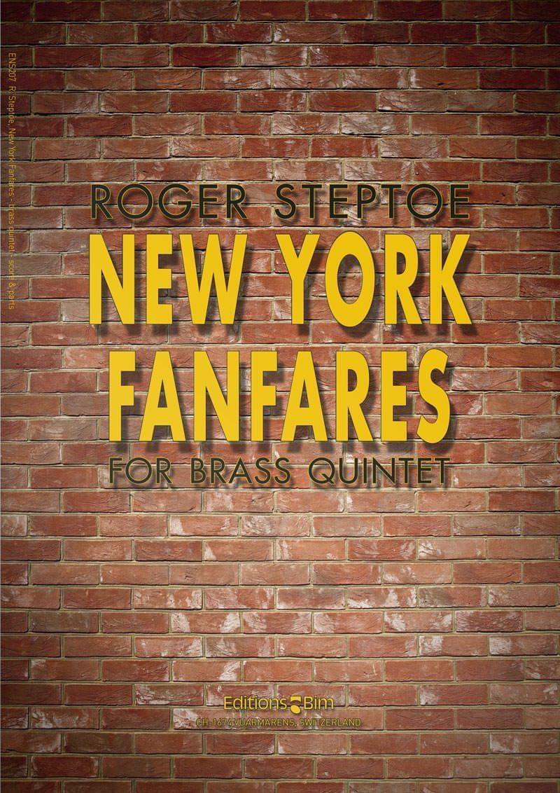 Steptoe  Roger  New  York  Fanfares  Ens207