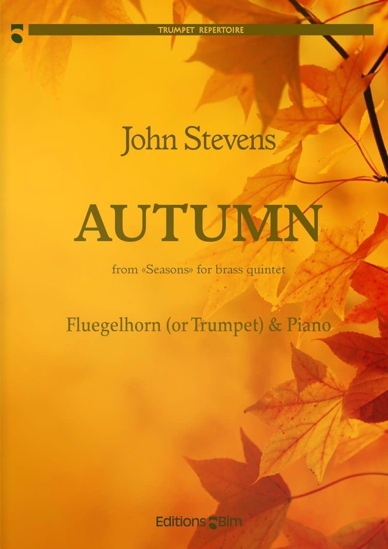Stevens  John  Autumn  Flugelhorn And  Piano  Tp296