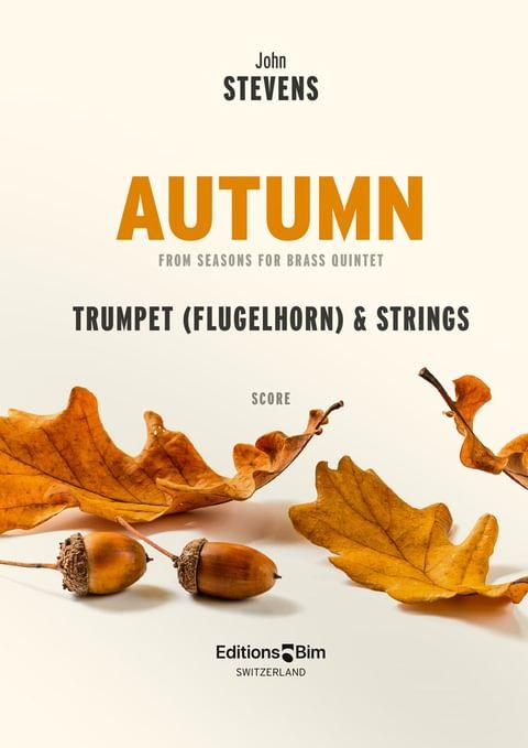 Stevens John Autumn Flugelhorn And Strings Tp296B