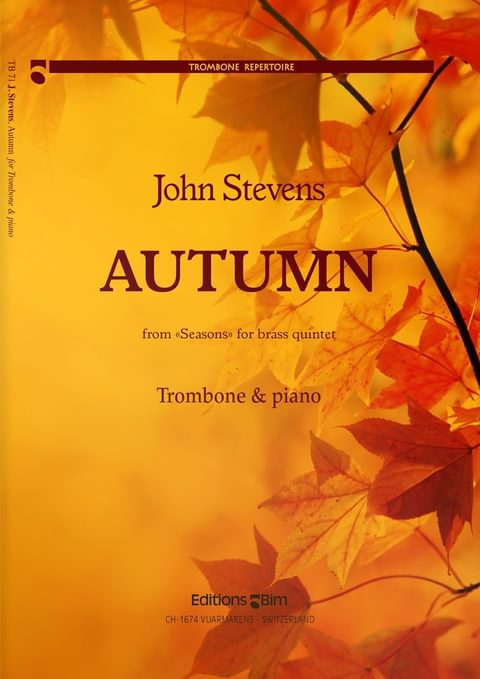 Stevens  John  Autumn  Trombone And  Piano  Tb71