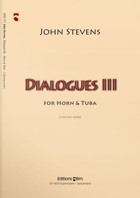 Stevens  John  Dialogues 3  Ens177