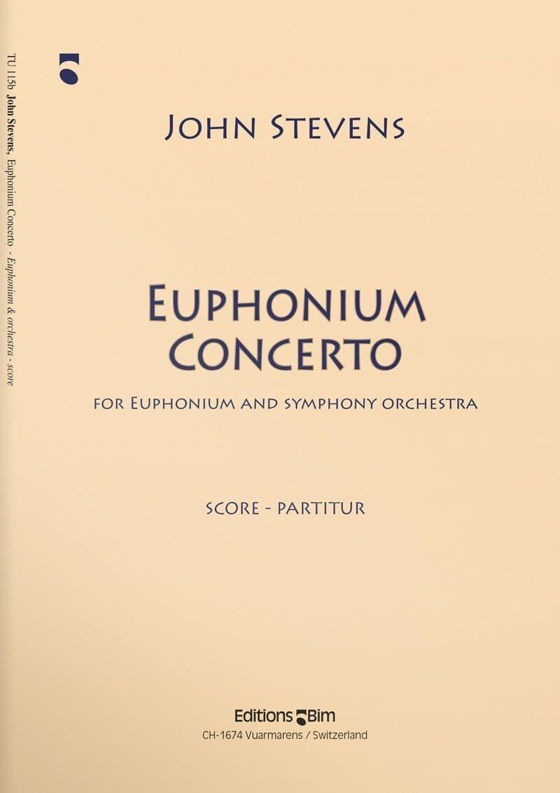Stevens  John  Euphonium  Concerto  Tu115B