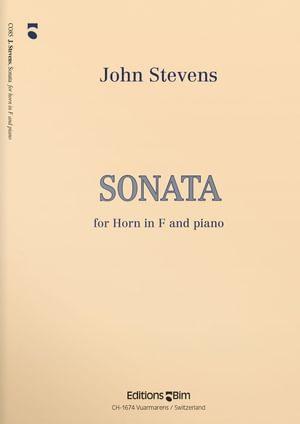 Stevens  John  Horn  Sonata  Co85