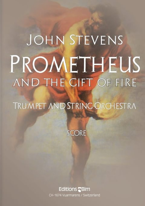 Stevens  John  Promotheus And  The  Gift Of  Fire  Tp305B