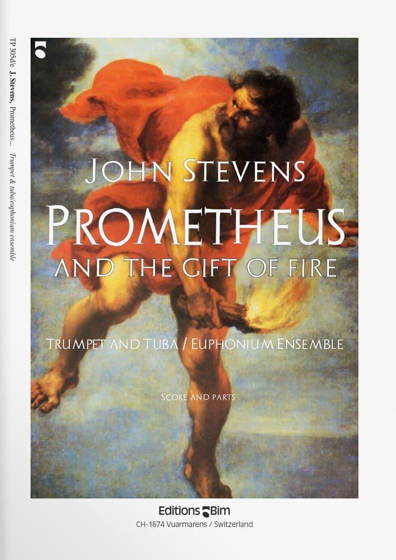 Stevens  John  Promotheus And  The  Gift Of  Fire  Tp305D