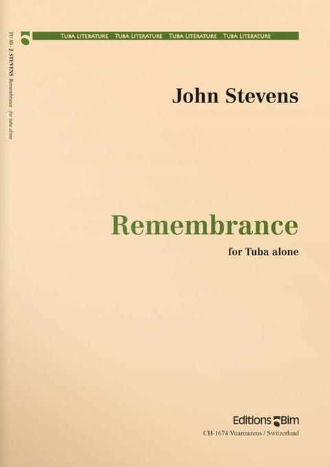 Stevens  John  Remembrance  Tu80