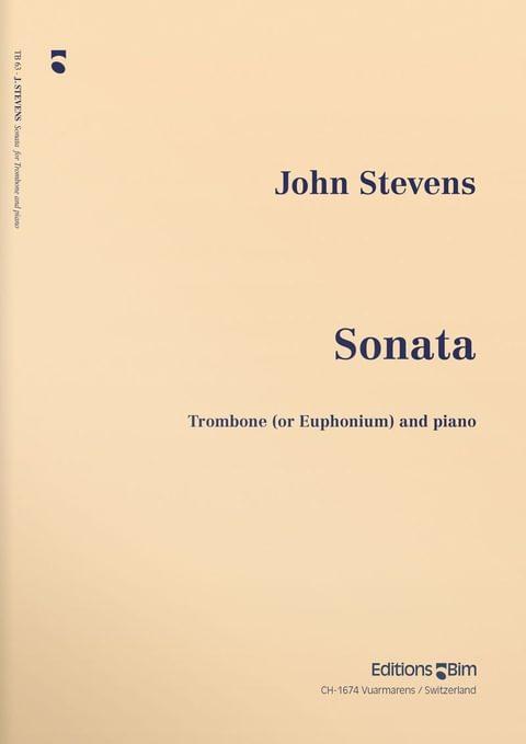 Stevens  John  Trombone  Sonata  Tb63