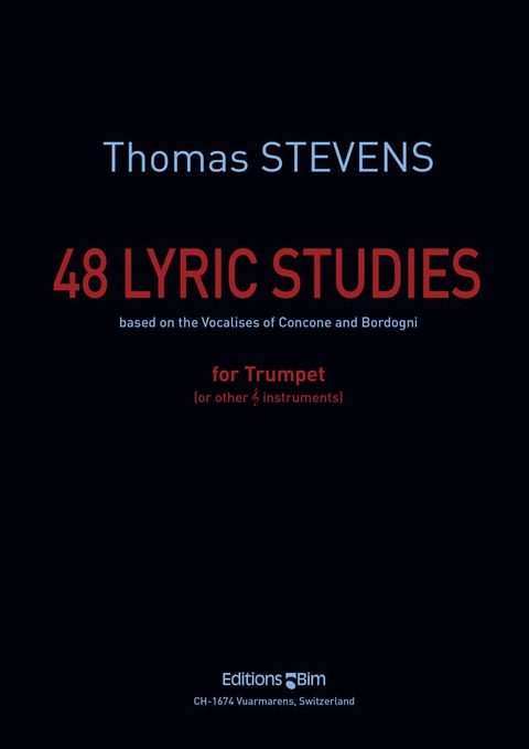 Stevens  Thomas 48  Lyric  Studies  Tp101