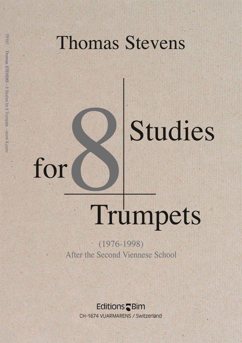 Stevens  Thomas 8  Studies 8  Trumpets  Tp197