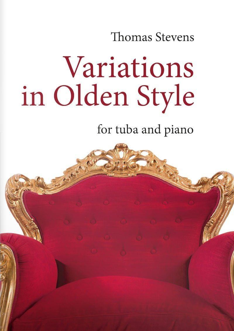 Stevens  Thomas  Variations In  Olden  Style  Tu8
