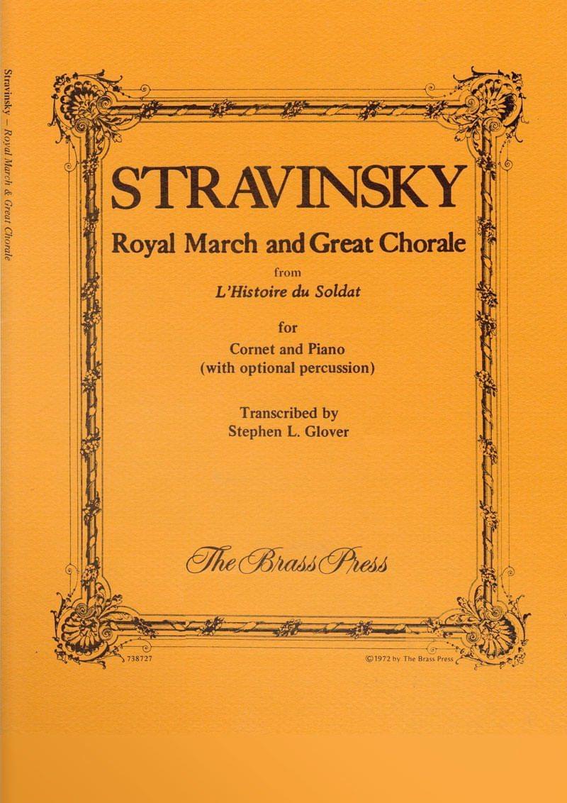 Stravinsky  Igor  Royal  March  Tp177