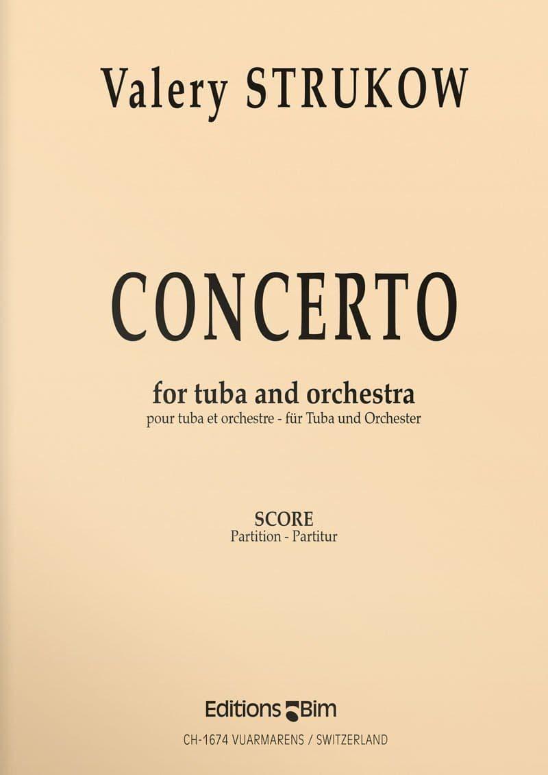 Strukow  Valery  Tuba  Concerto  Tu15