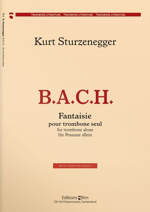 Sturzenegger  Kurt  B  A  C  H  Tb6
