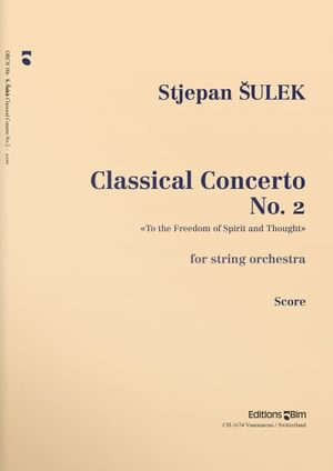 Sulek  Stepjan  Classical  Concerto  No 2  Orch38