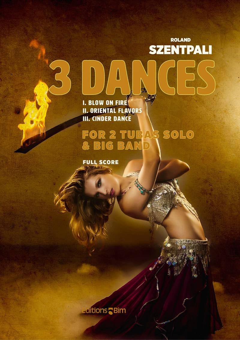 Szentpali Roland 3 Dances Tu132B