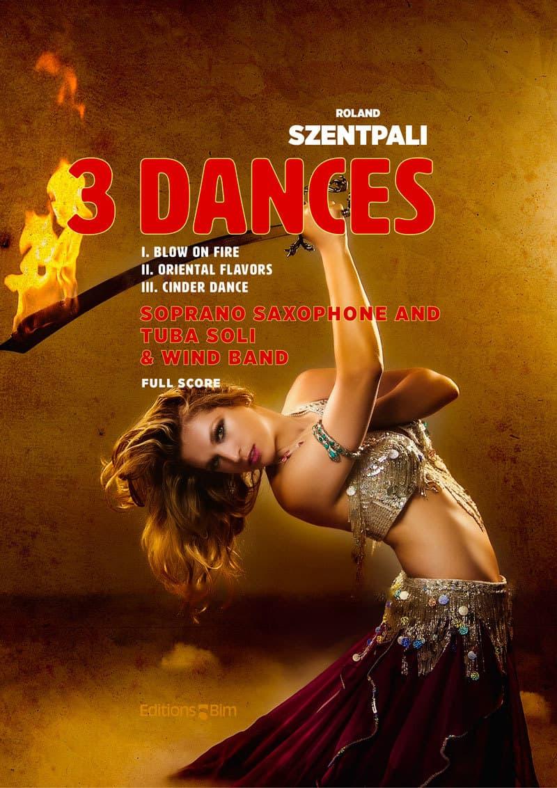 Szentpali Roland 3 Dances Tu132E