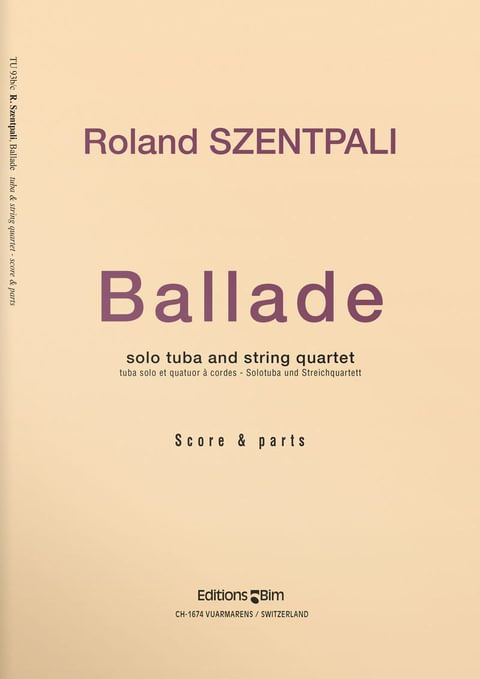Szentpali  Roland  Ballade  Tu93