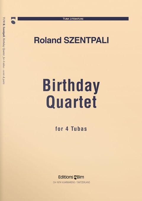 Szentpali  Roland  Birthday  Quartet  Tu90
