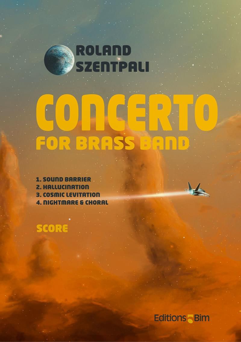 Szentpali Roland Brass Band Concerto Brb16
