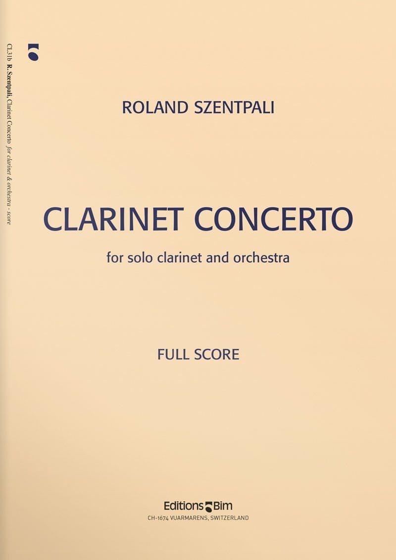 Szentpali  Roland  Clarinet  Concerto  Cl31
