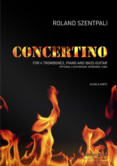 Szentpali  Roland  Concertino  Tb74