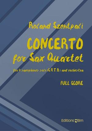Szentpali Roland Concerto Sax Quartet Sax20