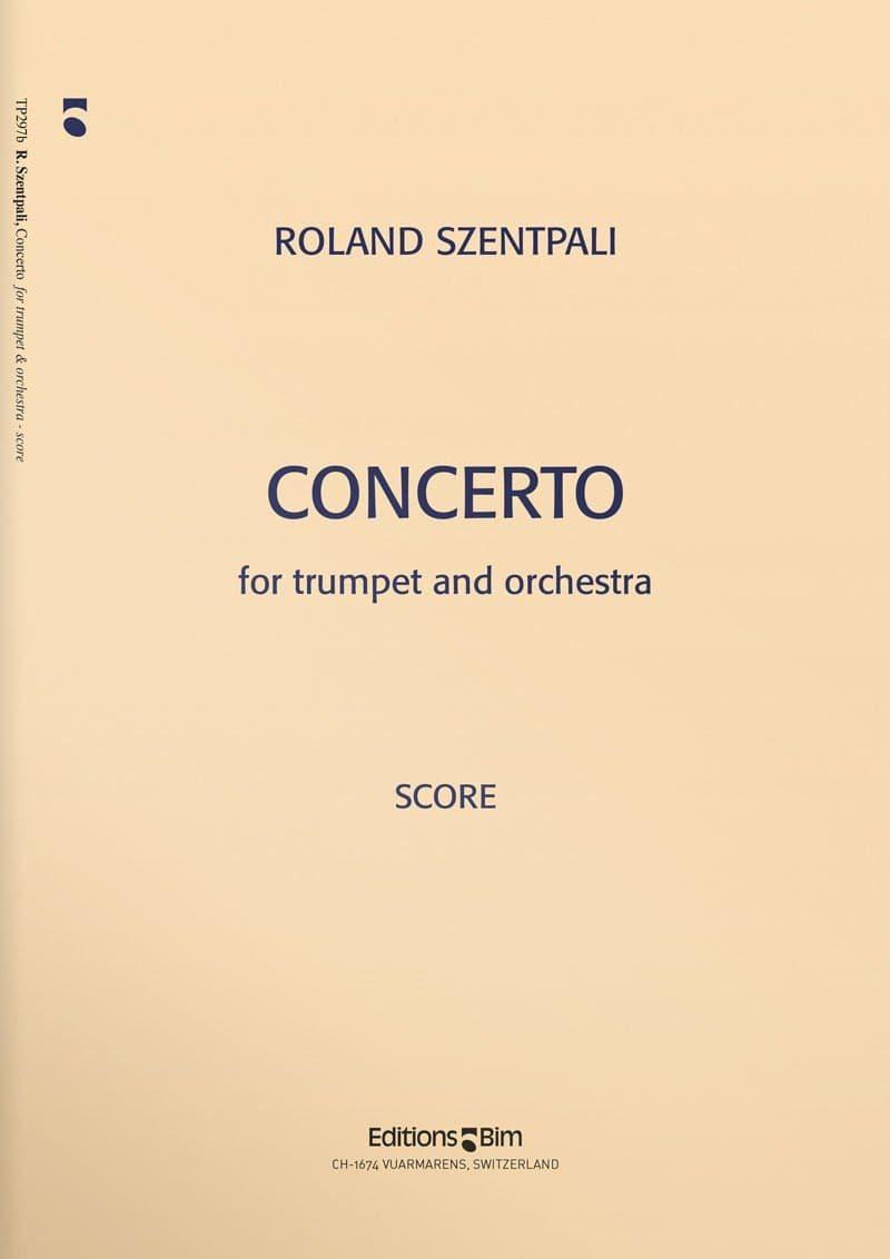 Szentpali  Roland  Trumpet  Concerto  Tp297