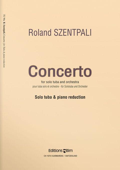 Szentpali  Roland  Tuba  Concerto  Tu96A