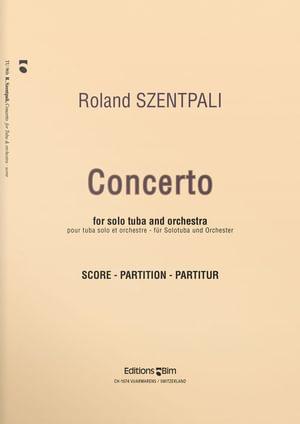 Szentpali  Roland  Tuba  Concerto  Tu96B