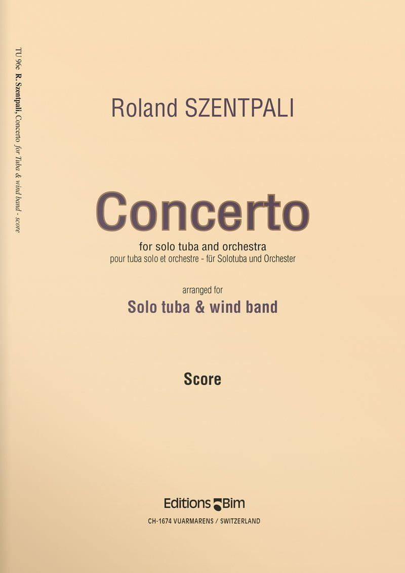 Szentpali  Roland  Tuba  Concerto  Tu96E