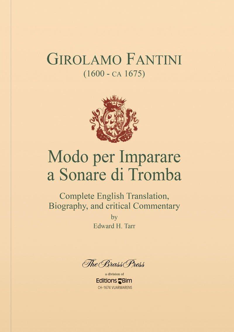 Tarr  Edward  Fantini  Girolamo  Modo Per  Imparare A  Sonare  Tp187E