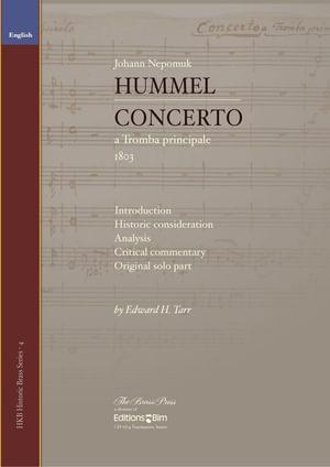 Tarr Eward Hummel Concerto A Tromba Principale Tp306