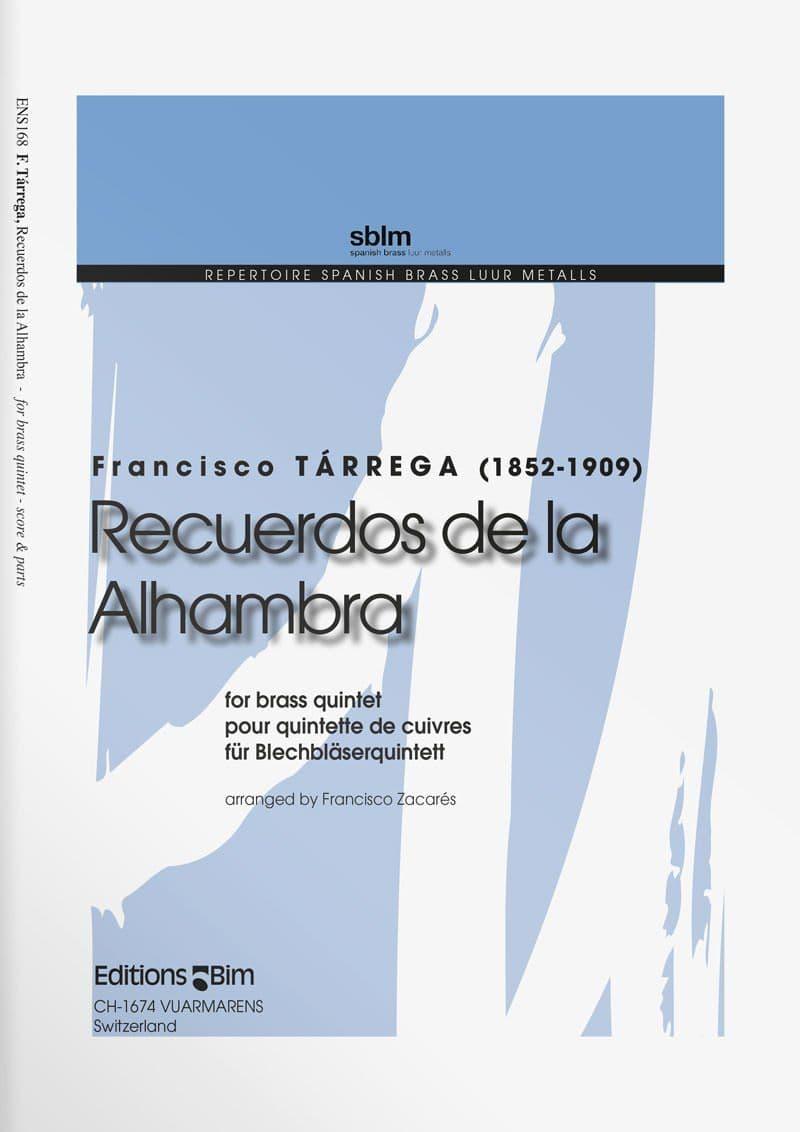 Tarrega  Francisco  Recuerdos De La  Alhambra  Ens168