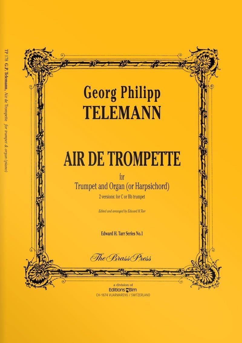Telemann  Georg  Philip  Air De  Trompette  Tp178