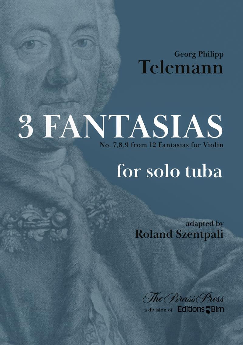 Telemann Georg Philipp 3 Fantasias Tuba Tu212