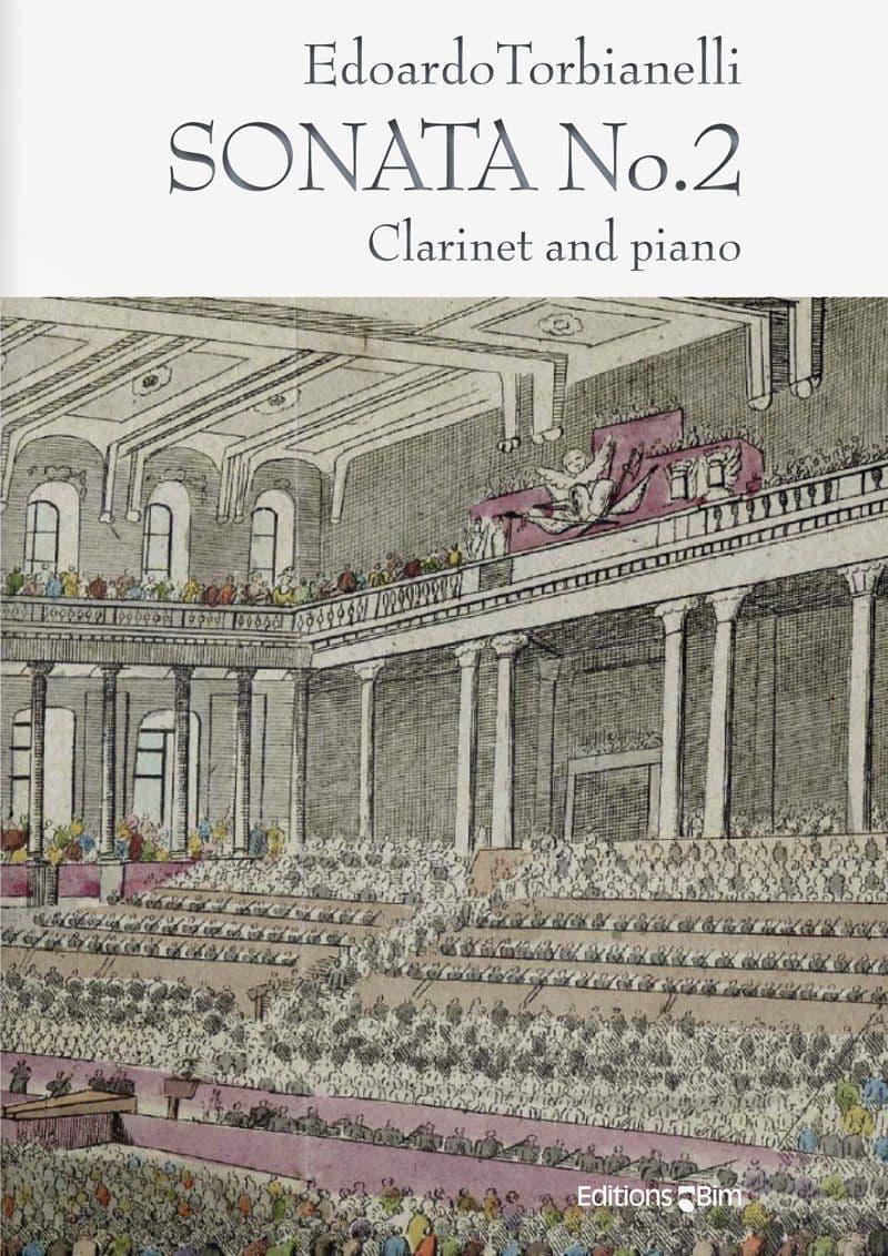 Torbianelli  Edoardo  Clarinet  Sonata  No 2  Cl34