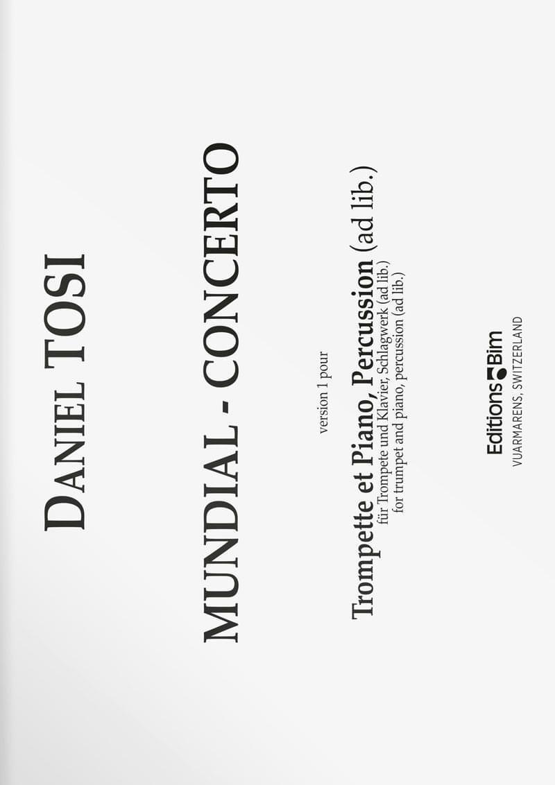 Tosi  Daniel  Mundial  Concerto  Tp81