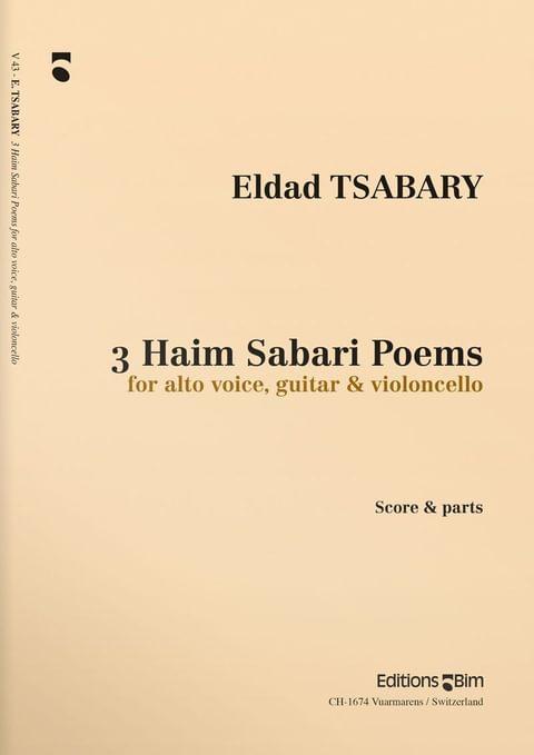 Tsabary  Eldad 3  Haim  Sabari  Poems  V43