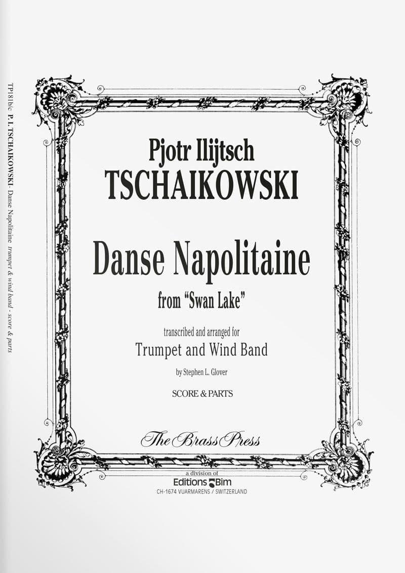 Tschaikovsky Piotr Danse Napolitaine Tp181B