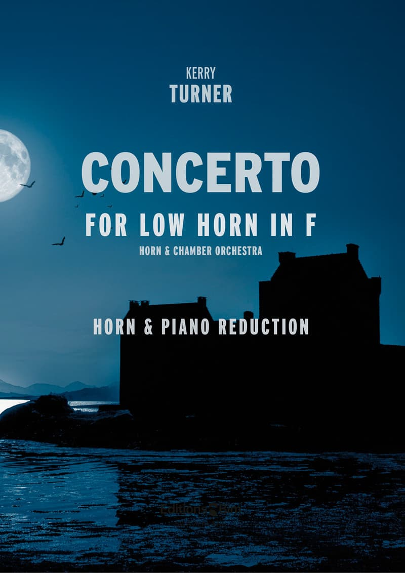 Turner  Kerry  Concerto For  Low  Horn  Co46