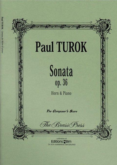 Turok  Paul  Sonata  Co59