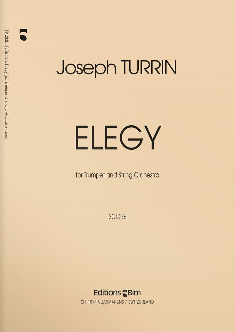 Turrin  Joseph  Elegy  Tp202
