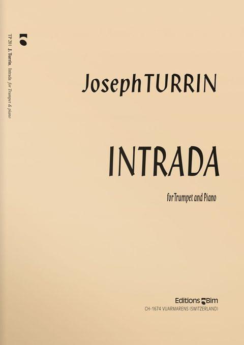 Turrin  Joseph  Intrada  Tp201