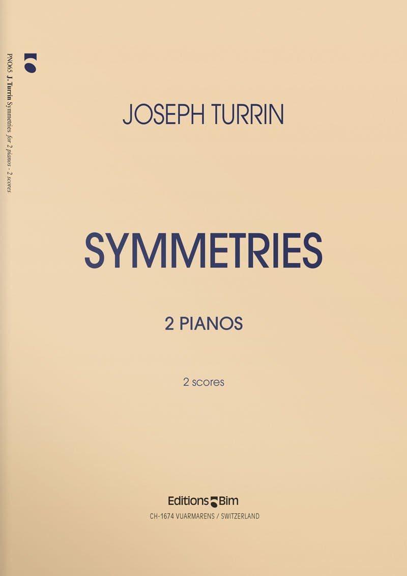 Turrin  Joseph  Symmetries  Pno65