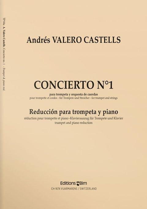 Valero  Castells  Andres  Concierto  No 1  Tp84A