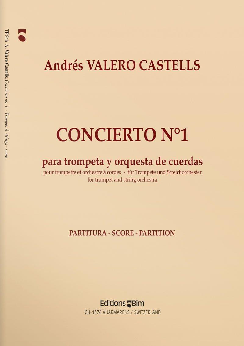 Valero  Castells  Andres  Concierto  No 1  Tp84B