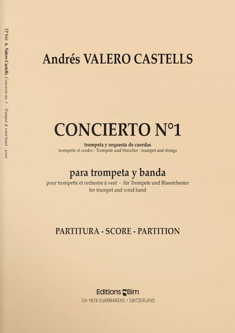 Valero  Castells  Andres  Concierto  No 1  Tp84D
