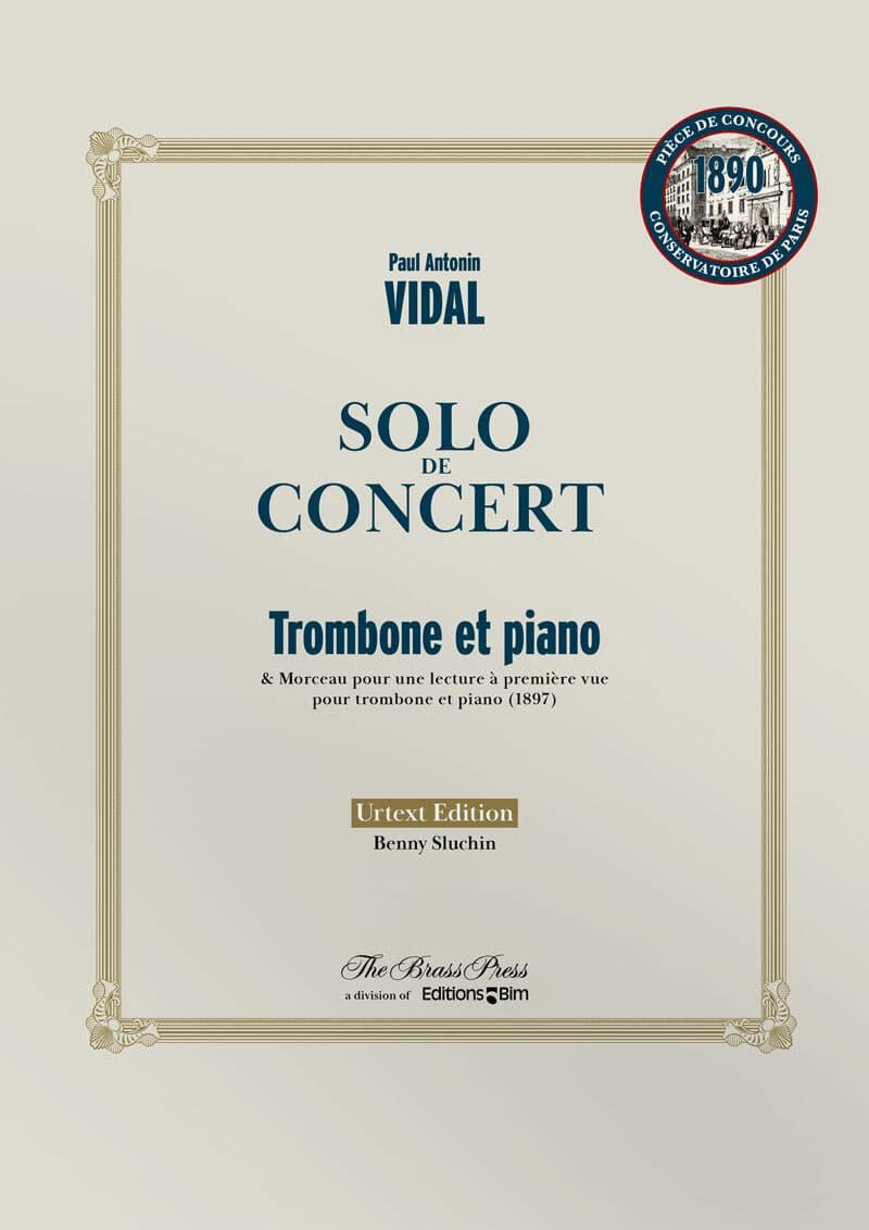 Vidal Paul Solo De Concert Tb107