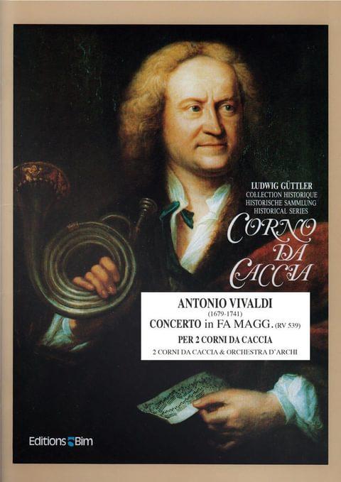 Vivaldi  Antonio  Concerto  Fa  Maggiore  Co9