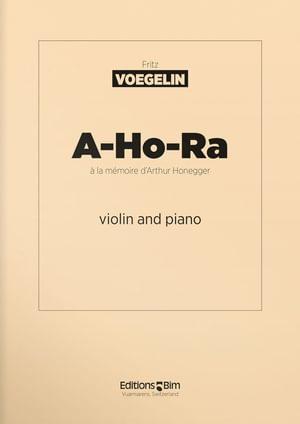 Voegelin  Fritz  A  Ho  Ra  Vn4